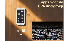 Apps voor EPA