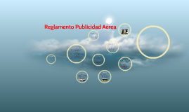 Reglamento Publicidad Aérea