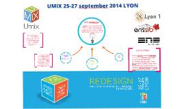 UMIX 25-27 september 2014 LYON