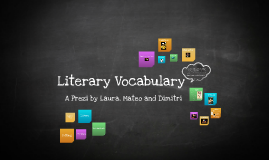 Copy of Literary Vocabulary