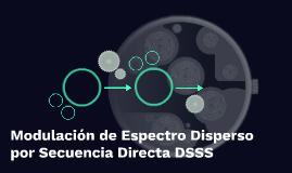 Modulación de Espectro Disperso por Secuencia Directa DSSS