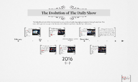 The Evolution of The Daily Show