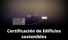 Certificación de Edificios sostenibles