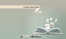 Open Boek les 1