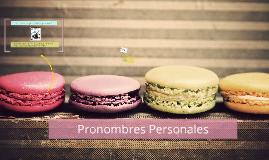 Pronombre Personal