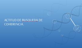 ACTITUD DE BUSQUEDA