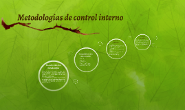 Copy of Metodologias de control interno