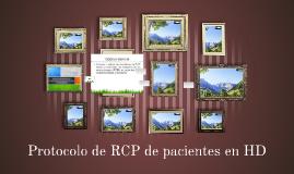 Protocolo de RCP de pacientes en HD