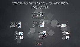 Contrato de Trabajo Vigilancia