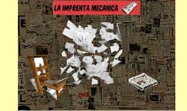 IMPRENTA MECANICA