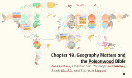 Chapter 19: Geography matters and