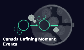 Canada Defining Moment Events