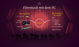 Filmmusik mit dem PC