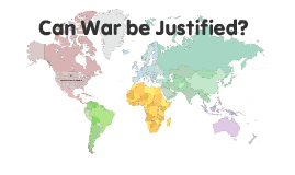 can war be justified