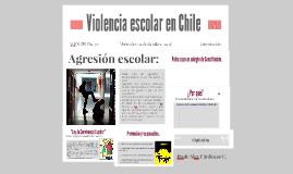 Violencia escolar en Chile