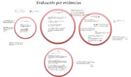 Evaluación por evidencias