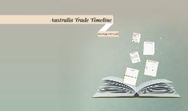 Australia Trade Timeline