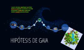 HIPOTESIS DE GAIA