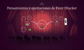 Copy of Pensamientos y aportaciones de Peter Drucker