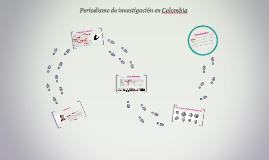 Periodismo de investigación en Colombia