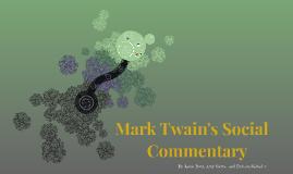 Mark Twain's Social