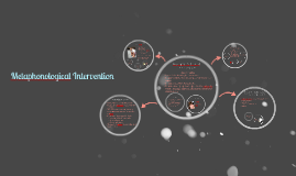 Copy of Metaphonological Intervention