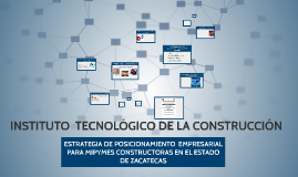 Copy of INSTITUTO  TECNOLÓGICO DE LA CONSTRUCCIÓN