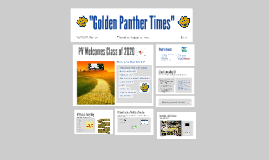 """Golden Panther Times"""