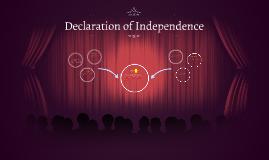 declaration or indepedence