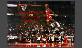 Why are statistics important in sports?