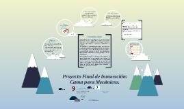 Copy of Proyecto Final de Innovación: