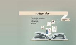 Aristoteles - der bedeutendstePhilosoph