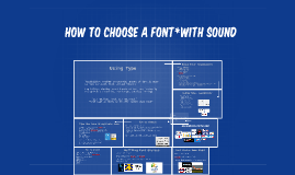 How to choose a font