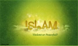 Violent or Peaceful?