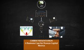 Copy of Copy of Copy of Copy of CHIRM PRESENTATION