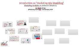 Introduction au MMM