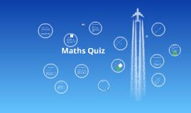 Copy of Y7 Maths Quiz