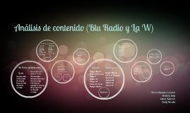 Blu Radio y La W