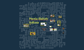 Poesia digitale italiana