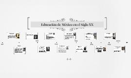 Educación de México en el Siglo XX