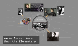 Marie Curie:Scientist