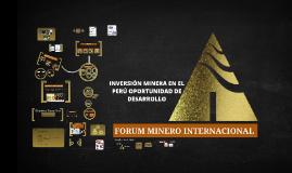 Copy of INVERSIÓN MINERA EN EL PERÚ OPORTUNIDAD DE DESARROLLO