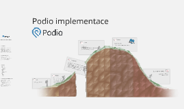 Podio implementace