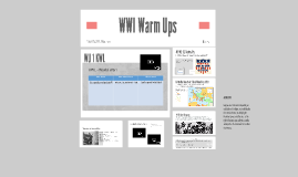 WWI Warm Ups