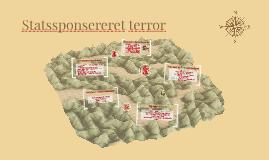 Statssponsereret terror