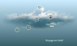 Voyage en Inde!
