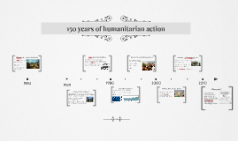 150 years of humanitarian action