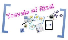 Copy of Travels of Rizal