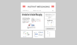 Instant messaging (IM) is a form of communication over the I