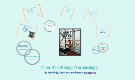 Wild, Financial and Managerial Accounting, 5e